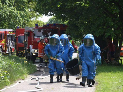Weiterlesen: Gefahrgutübung in Hepstedt