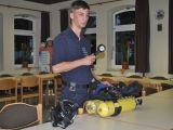 Jugendfeuerwehr beschäftigt sich mit dem Thema Atemschutz.