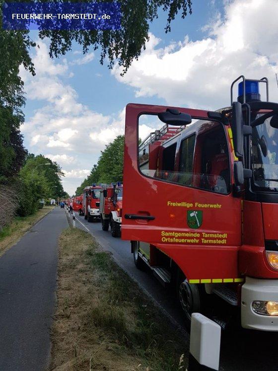 Brandeinsatz vom 25.05.2018  |  FEUERWEHR-TARMSTEDT.de (2018)